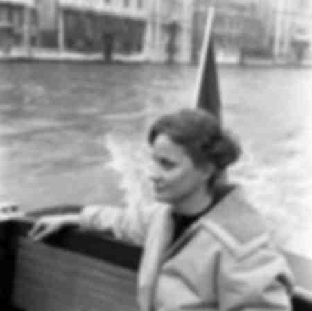 La actriz Alida Valli durante el caso Wilma Montesi