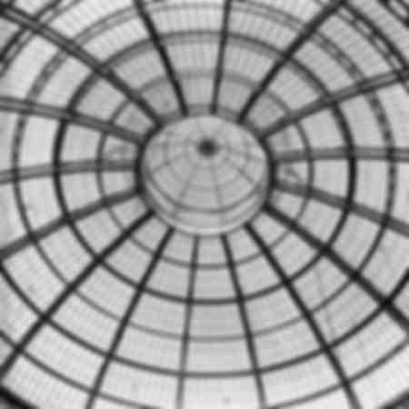 La cupola in Galleria a Milano nel 1948
