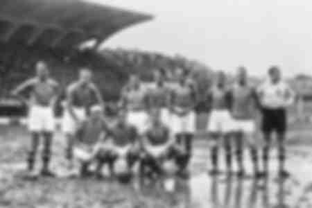 Het Italiaanse nationale team in 1933