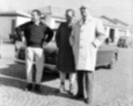 Mairesse e Surtess con Enzo Ferrari