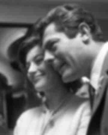 Marcello Mastroianni and Anouk Aimée