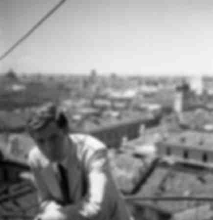 Marcello Mastroianni Milán 1960