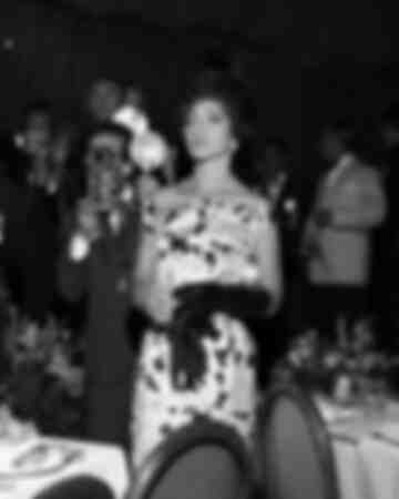 Maria Callas at the Gala of Monta Carlo