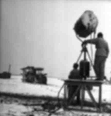 El rodaje de la película Miracolo a Milano