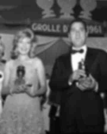 Monica Vitti et Alberto Sordi récompensés par la Grolle