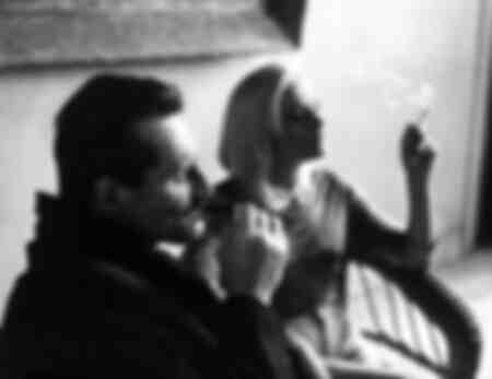 Pietro Germi and Virna Lisi