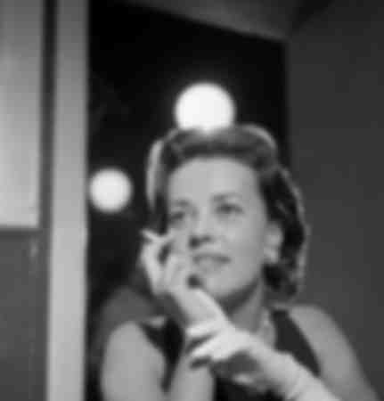 """""""Journalist of the month"""" award with Jeanne Moreau"""
