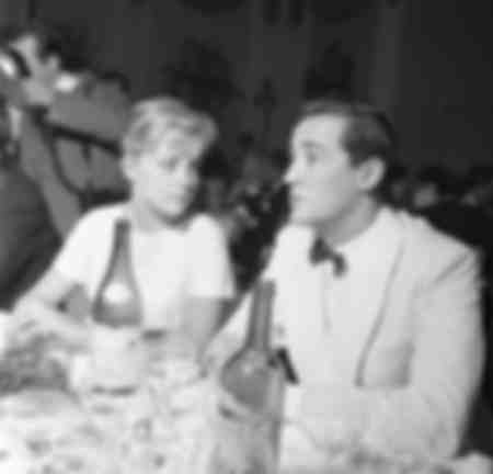 Virna Lisi and Vittorio Gassman at the Grolle d'Oro
