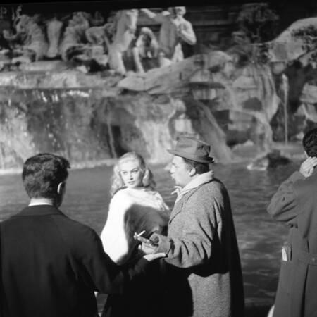 The set of the film La Dolce Vita