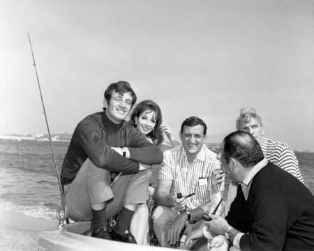 Belmondo e Ventura a Cannes