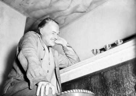 Ernest Hemingway 1948