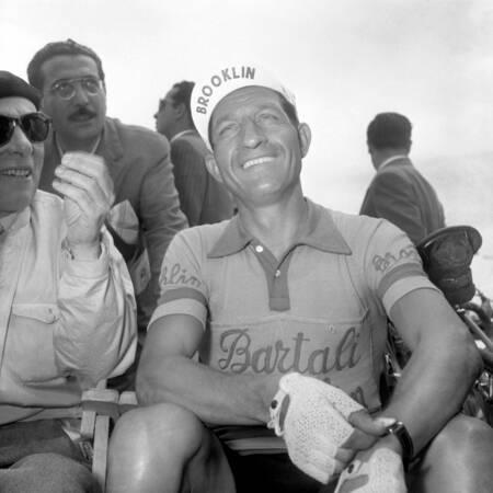Gino Bartali al Giro d'Italia