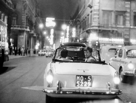 Jean Paul Belmondo in Rom