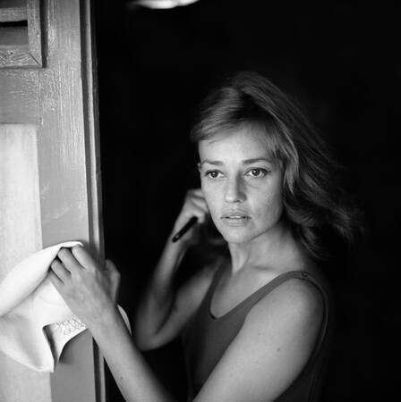 Jeanne Moreau bei den Filmfestspielen von Venedig