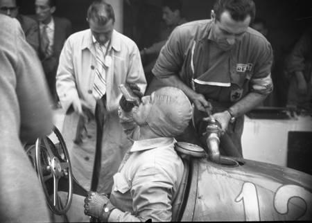 Nino Farina at the Grand Prix