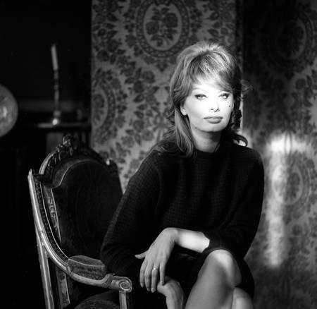 Sophia Loren Paris - January 1960