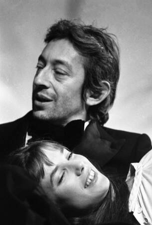 Serge Gainsbourg y Jane Birkin