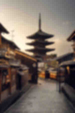 Pagoda di Yasaka a Kyoto