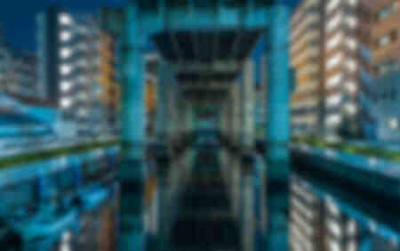 Les canaux de Tokyo
