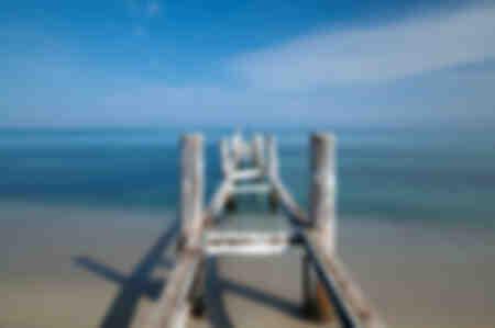 Spiaggia di Saint Tropez fuori stagione 01