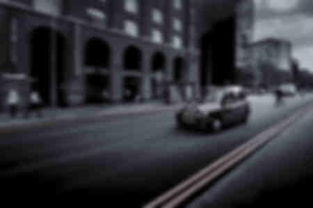 Schwarzes Taxi
