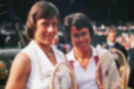 Billie Jean King y Martina Navratilova