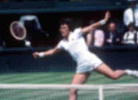 Billie Jean King en 1980