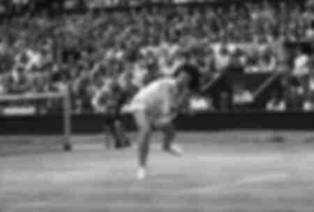 Billie Jean King winner of Ladies Singles final