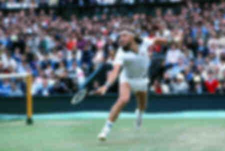 Björn Bog - 1981 Wimbledon Tennis Championships