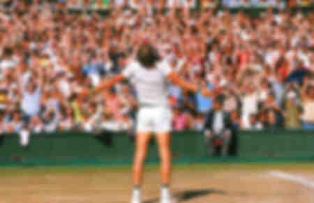 Björn Borg gewinnt die Wimbledon-Meisterschaft der Männer 1977