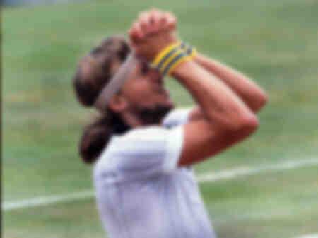 Björn Borg gewinnt das Finale der Wimbledon-Meisterschaft 1978