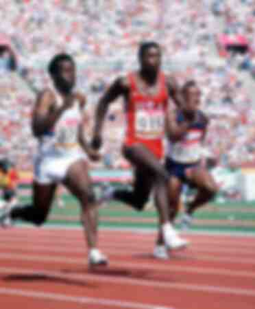 Carl Lewis - Olimpiadi di Los Angeles 1984
