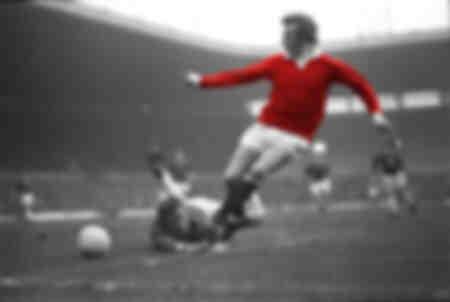 Denis Law verslaat Everton-doelman - 1972