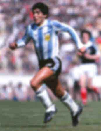 Diego Maradona Scotland 1 Argentina 3