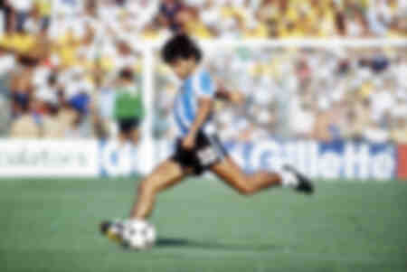 Diego Maradona - Coppa del Mondo 1982