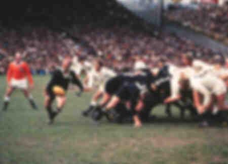 Primera victoria del equipo de rugby de Inglaterra en Nueva Zelanda