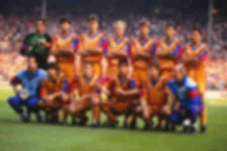 1992 Europese bekerfinale - team van Barcelona