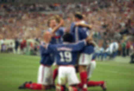 France football team victory in World Cup 1998