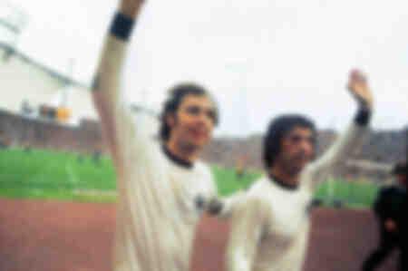 Franz Beckenbauer and Gerd Muller