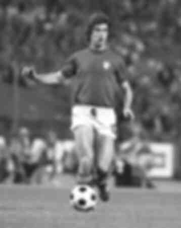 Gianni Rivera during 1974 Football World Cup Final