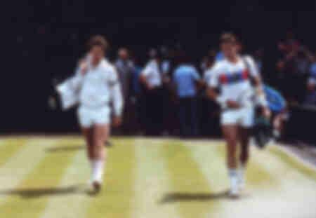 Ivan Lendl y John McEnroe - 1983