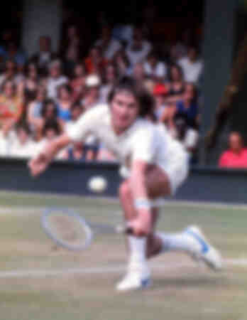 Jimmy Connors - 1975 Wimbledon Tennis Championships