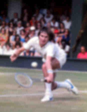 Jimmy Connors - Championnats de tennis de Wimbledon 1975
