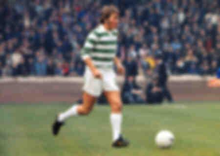 Kenny Dalglish - Celtic v Glasgow Rangers - 1972