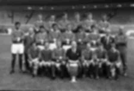 Équipe de Manchester United - Champions de la Coupe d'Europe 1968