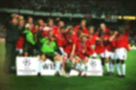 Manchester United wins 1999 Champions League Final