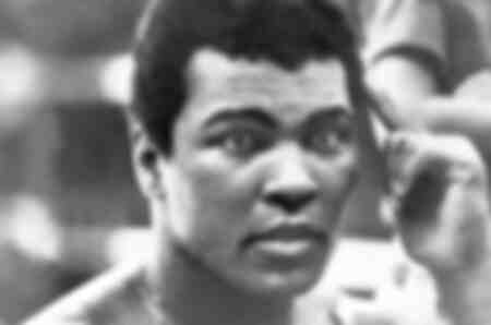 Muhammad Ali before his fight against Bugner