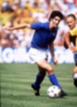 Paolo Rossi Durante WC1982 Italia 3 Brasile 2