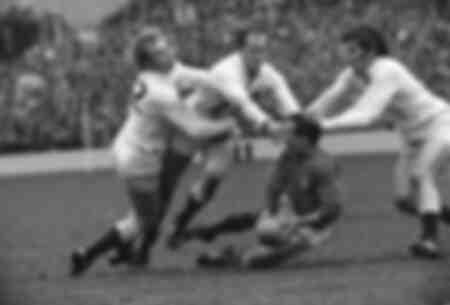 Rugby 1971 - Inglaterra vs Francia