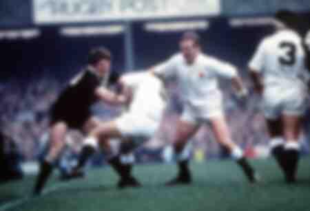 Rugby game - England v All Blacks - 1983